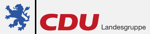 Logo von CDU Landesgruppe Hessen